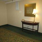 Hotel hallway.