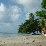 La playa privada del hotel de la Isla Providencia de la misma cadena