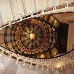 Scalone ellittico con lucernario in Stile Liberty
