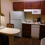 Kitchenette and Small Work / Dining Space