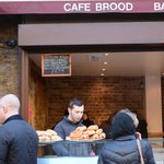 """Enjoy your food, young man!"" -cook at Cafe Brood"