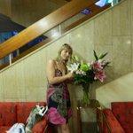Всегда живые цветы в холле