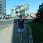 Вид при выходе из отеля