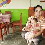 Jevan and daughter (owner)