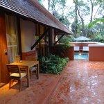 Villa outdoor space
