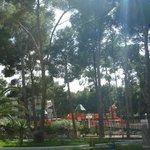детская площадка на территории отеля Jaime 1