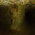 Tunnels within the mines.