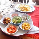 guacamole and salsas