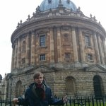 Luke at the Radcliffe Camera