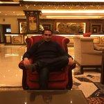 Me in Hotel Lobby