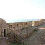 Вид с крепости на море