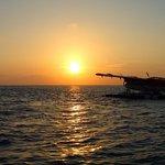 Sunrise seaplane