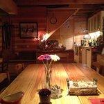 La salle de repas