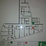 План эвакуации из номера