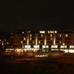Parkhotel bei Nacht