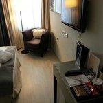 Уютный номер, телевизор, мини-бар