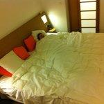 Huge 7ft square bed