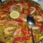 Paella for three on our last night! (for six more likely!) We tried but we just couldn't finish