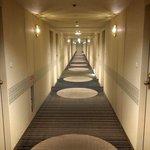 Hotel's hallway