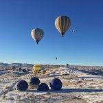 Flying in Cappadocia