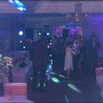 dance floor in evening