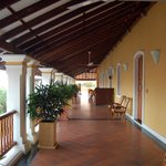 The wide verandahs arevideal for relaxing and reading