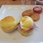 Eggs Benny mmmm the best I've ever had
