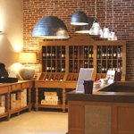 Wine shop at Brunelli's