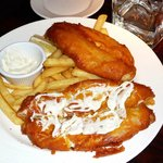 Fish & Chips.  main course