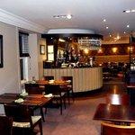 Bar & restaurant area, upstairs.
