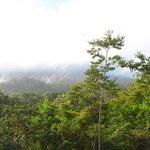 Там за облаками... вулкан Ареналь