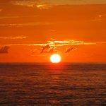 sunset at the Half Moon Bay Resort