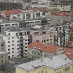 Вид из окна - таллиннские крыши