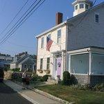 A Cape house with a Widow's Walk