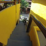 escada exterior