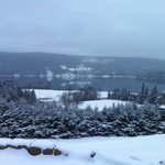 The Bras d'Or in the winter