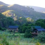 Tented safari lodges