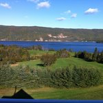 The Bras d'Or lake in the summer