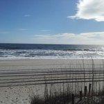 View of beach at Cabana 105