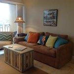 living area at 105 Cabana