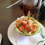 Sunomo Salad with Shrimp