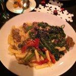Broccoli rabe & sausage