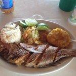 pescado frito / Waffer H