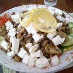 Çınar salatası