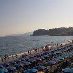 La spiaggia di Celle Ligure