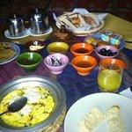 Excellent Berber breakfast