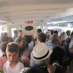 A really busy day on water taxi