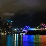 The Story Bridge by night