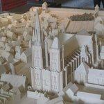 Maquette del complesso abbaziale