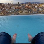 Rooftop pool (which was very cold in January!)